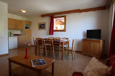 Location au ski Appartement 4 pièces cabine 8 personnes (D33) - Résidence des Gentianes - Puy-Saint-Vincent