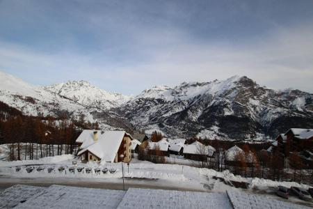Rent in ski resort 3 room apartment cabin 8 people (B33) - Résidence des Gentianes - Puy-Saint-Vincent - Winter outside