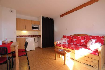 Rent in ski resort Studio 2 people (5A) - Résidence des Gentianes - Puy-Saint-Vincent