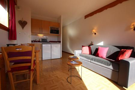 Rent in ski resort Studio 2 people (D37) - Résidence des Gentianes - Puy-Saint-Vincent