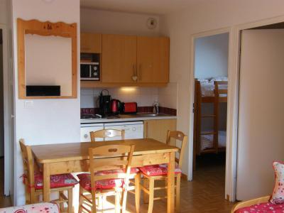 Location au ski Appartement 2 pièces cabine 4 personnes (A46) - Résidence des Gentianes - Puy-Saint-Vincent - Cuisine