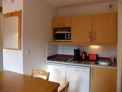 Location au ski Appartement 2 pièces cabine 4 personnes (A46) - Résidence des Gentianes - Puy-Saint-Vincent - Kitchenette