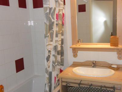 Location au ski Appartement 2 pièces cabine 4 personnes (A46) - Résidence des Gentianes - Puy-Saint-Vincent - Salle de bains