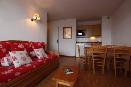 Location au ski Appartement 2 pièces coin montagne 6 personnes (B24) - Résidence des Gentianes - Puy-Saint-Vincent - Canapé