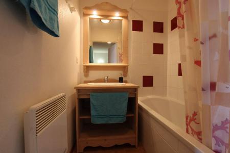 Location au ski Appartement 2 pièces coin montagne 6 personnes (B24) - Résidence des Gentianes - Puy-Saint-Vincent - Salle de bains