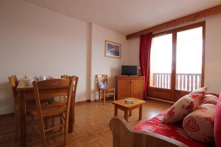 Location au ski Appartement 2 pièces coin montagne 6 personnes (B24) - Résidence des Gentianes - Puy-Saint-Vincent - Séjour