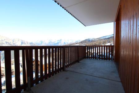 Location au ski Appartement 2 pièces coin montagne 6 personnes (D25) - Résidence des Gentianes - Puy-Saint-Vincent - Balcon
