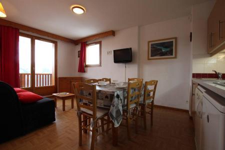 Location au ski Appartement 2 pièces coin montagne 6 personnes (D25) - Résidence des Gentianes - Puy-Saint-Vincent - Coin repas