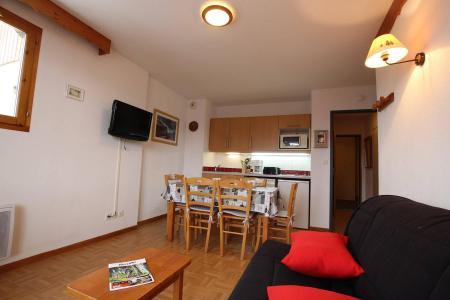 Location au ski Appartement 2 pièces coin montagne 6 personnes (D25) - Résidence des Gentianes - Puy-Saint-Vincent - Cuisine
