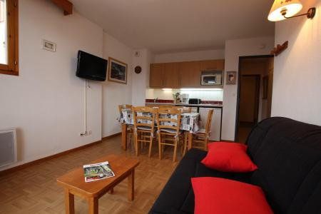 Location au ski Appartement 2 pièces coin montagne 6 personnes (D25) - Résidence des Gentianes - Puy-Saint-Vincent - Cuisine ouverte