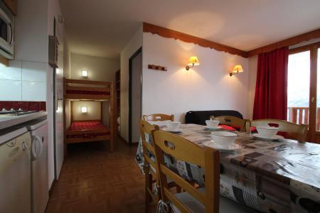 Location au ski Appartement 2 pièces coin montagne 6 personnes (D25) - Résidence des Gentianes - Puy-Saint-Vincent - Kitchenette
