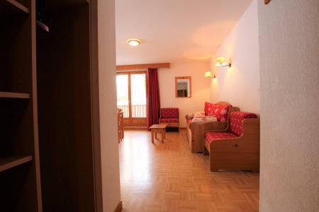 Location au ski Appartement 4 pièces cabine 8 personnes (B33) - Résidence des Gentianes - Puy-Saint-Vincent - Banquette-lit
