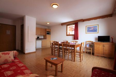 Location au ski Appartement 4 pièces cabine 8 personnes (B33) - Résidence des Gentianes - Puy-Saint-Vincent - Séjour