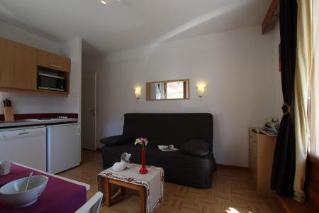 Rent in ski resort Studio 4 people (B17) - Résidence des Gentianes - Puy-Saint-Vincent - Bench seat