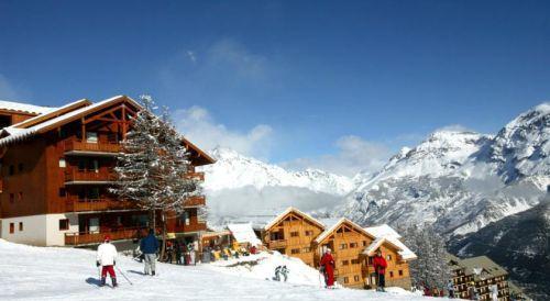 Location au ski Residence La Dame Blanche - Puy-Saint-Vincent - Extérieur hiver