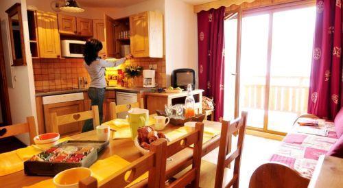 Location au ski Residence La Dame Blanche - Puy-Saint-Vincent - Séjour
