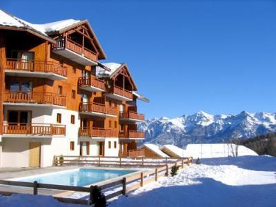 Location au ski Residence Le Parc Aux Etoiles - Puy-Saint-Vincent - Extérieur hiver