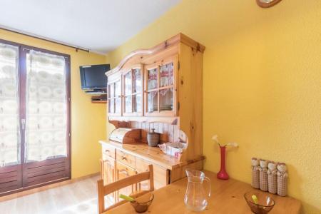Location au ski Studio coin montagne 4 personnes (404) - Résidence le Sérac - Puy-Saint-Vincent - Extérieur hiver
