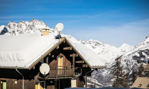 Аренда на лыжном курорте Résidence les Chalets de Puy Saint Vincent - Maeva Home - Puy-Saint-Vincent - зимой под открытым небом