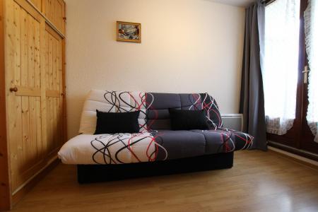 Location au ski Studio cabine 4 personnes (205) - Résidence les Ecrins - Puy-Saint-Vincent - Canapé-lit