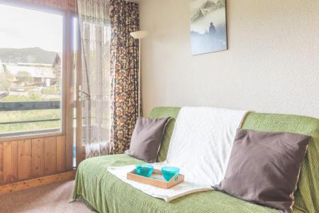 Location au ski Appartement 2 pièces 4 personnes (07) - Résidence les Eyssallarettes - Puy-Saint-Vincent - Canapé-lit