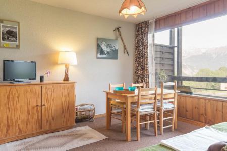 Location au ski Appartement 2 pièces 4 personnes (07) - Résidence les Eyssallarettes - Puy-Saint-Vincent - Salle à manger