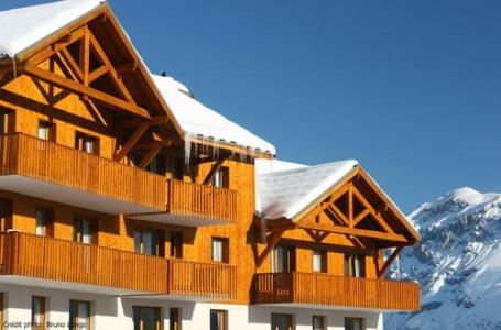 Location au ski Residence Les Gentianes - Puy-Saint-Vincent - Extérieur hiver