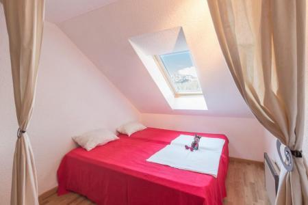 Location au ski Studio duplex 4 personnes (310) - Residence Saphir - Puy-Saint-Vincent - Chambre