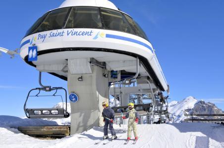 Location au ski Résidence Sun Vallée - Puy-Saint-Vincent - Extérieur hiver