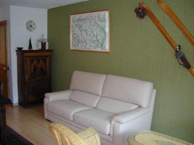 Location au ski Residences Puy St Vincent 1600 - Puy-Saint-Vincent - Coin séjour
