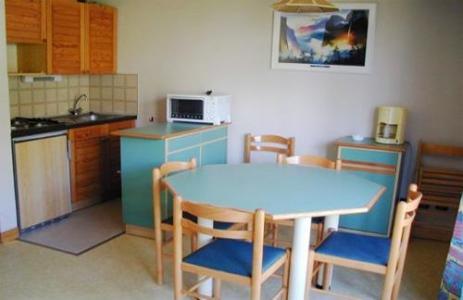 Location au ski Residences Puy St Vincent 1600 - Puy-Saint-Vincent - Coin repas