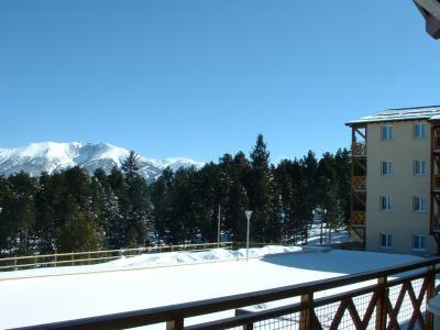 Location au ski Résidence Appart'Vacances Pyrenées 2000 - Pyrénées 2000 - Extérieur hiver