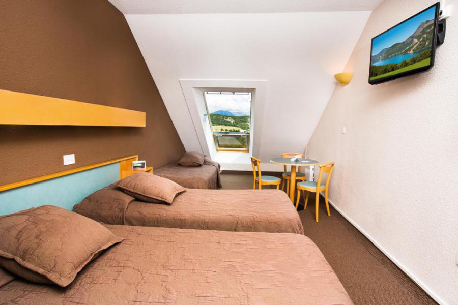 Аренда на лыжном курорте Спальня 3 чел. (Essentielle) - Village Club Les Horizons du Lac - Réallon - Комната