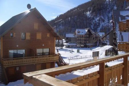 Location au ski Residence Joubelle - Réallon - Extérieur hiver