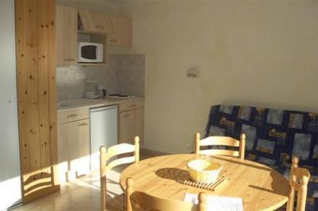 Location au ski Appartement 2 pièces coin montagne 6 personnes - Residence Joubelle - Réallon - Balcon