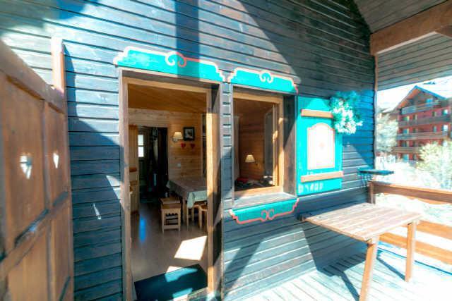 Location au ski Appartement 2 pièces mezzanine 6 personnes (17) - Chalet Les Pleiades - Risoul - Appartement