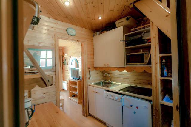 Location au ski Appartement 2 pièces mezzanine 6 personnes (17) - Chalet Les Pleiades - Risoul - Séjour