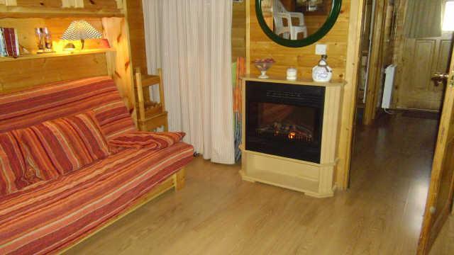 Location au ski Appartement 2 pièces mezzanine 6 personnes (2) - Chalet Les Pleiades - Risoul - Séjour