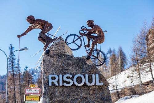 Location au ski Residence Cassiopee - Risoul - Extérieur hiver