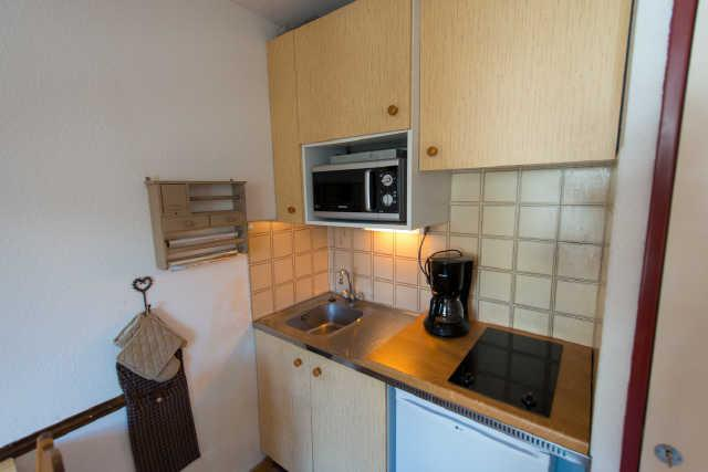Location au ski Studio cabine 4 personnes (33B) - Residence Edelweiss - Risoul