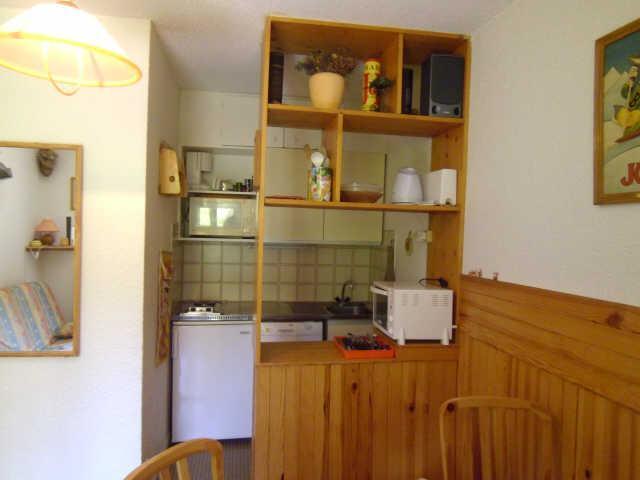 Location au ski Studio cabine 4 personnes (68A) - Residence Les Clarines - Risoul