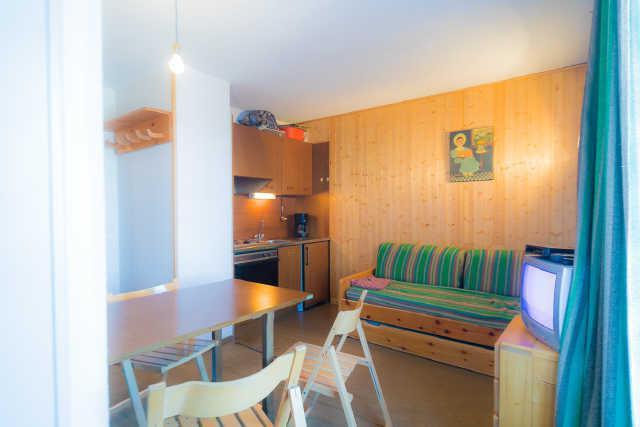 Location au ski Studio cabine 4 personnes (16B) - Residence Les Clematites - Risoul