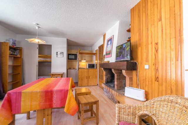 Location au ski Appartement 3 pièces cabine 6 personnes (856) - Residence Les Florins Ii - Risoul