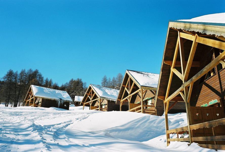 Vacaciones en montaña Apartamento 2 piezas mezzanine para 6 personas (2) - Chalet les Pléiades - Risoul - Invierno