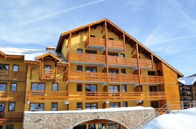 Vacaciones en montaña Apartamento cabina 2 piezas para 5 personas (404) - Résidence Antarès - Risoul - Invierno