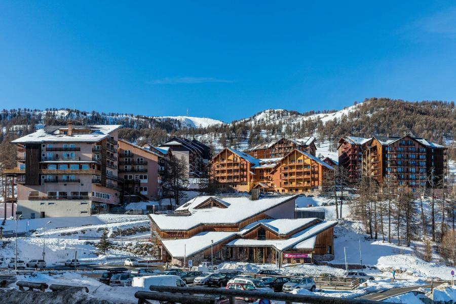 Location au ski Residence Castor Et Pollux - Risoul - Extérieur hiver