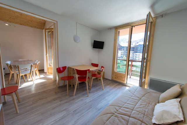 Location au ski Appartement 3 pièces cabine 6 personnes (35B) - Residence Edelweiss - Risoul