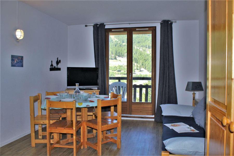 Аренда на лыжном курорте Апартаменты 3 комнат 6 чел. (608) - Résidence le Belvédère - Risoul - Салон