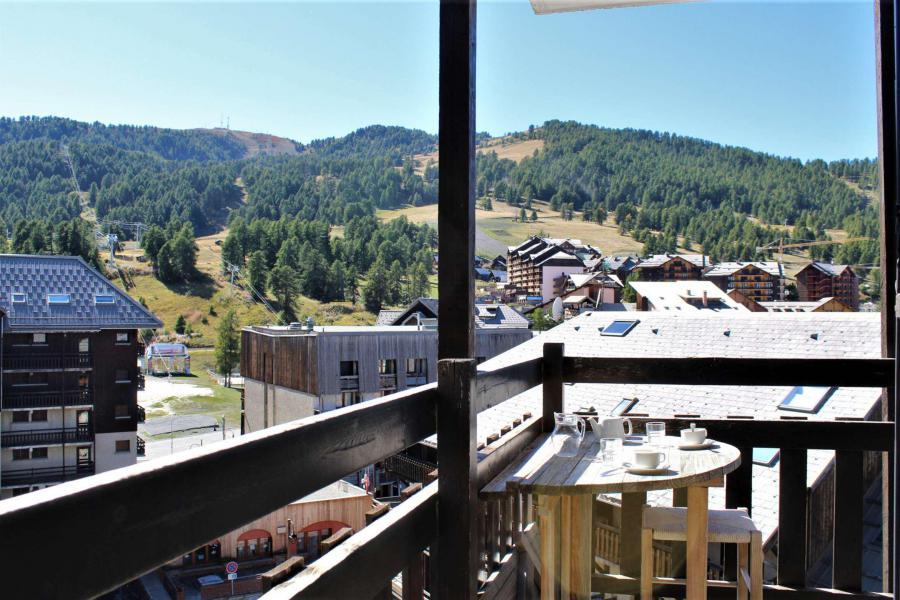 Location au ski Studio coin montagne 4 personnes (51B) - Résidence le Cristal B - Risoul - Extérieur hiver