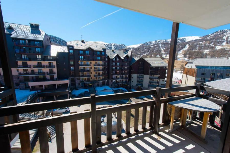 Аренда на лыжном курорте Квартира студия со спальней для 4 чел. (51B) - Résidence le Cristal B - Risoul